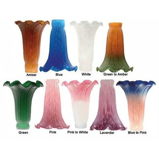 Tulip Glass Lamp Shades Ideas On Foter