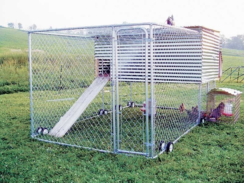 Movable chicken coop 1