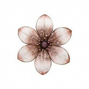 Shop Home Home Decor Wall Art Metal Flower Wall Art