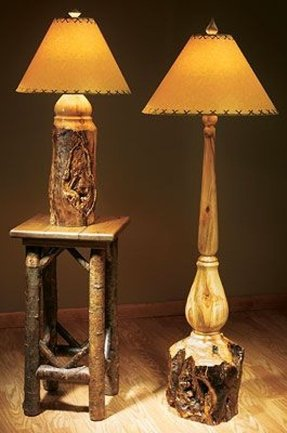 Western table lamp 2