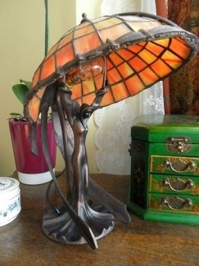 Art Deco Lady Lamp For 2020 Ideas On Foter