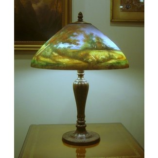 Reverse Painted Lamp Shade Ideas On Foter