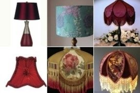 Burgundy lamp shades foter burgundy lamp shades aloadofball Image collections