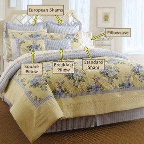Clearance Laura Ashley Caroline European Sham