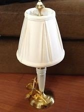 Excellent Lenox Lighting Quoizel Table Lamp Brass Porcelain China W