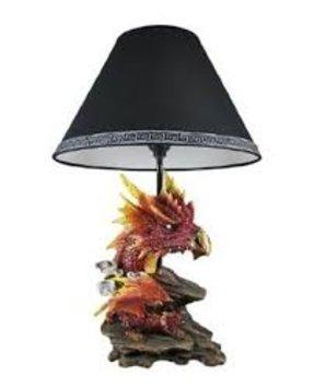 Dragon lamp foter firelight gothic dragon table lamp castle evil color 1 aloadofball Choice Image