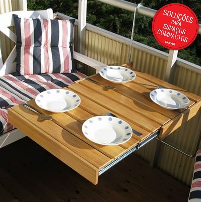 Genius Pull Out Hanging Balcony Table The Flexitable Balcony Table