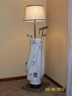 Golfer Lamp Foter