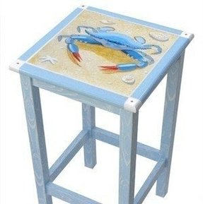 Hand painted bar stools 15