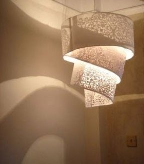 Rice paper lamp shades foter hanging paper lamp shade mozeypictures Images