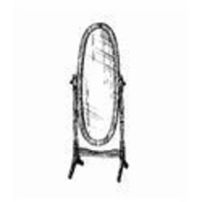 Heirloom cheval floor mirror 13