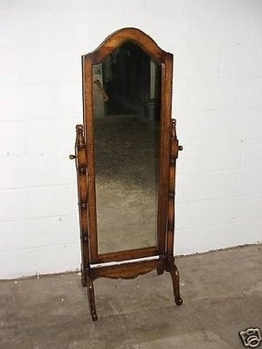 Heirloom cheval floor mirror