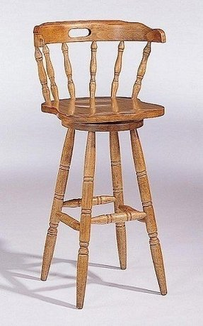 Honey oak bar stools