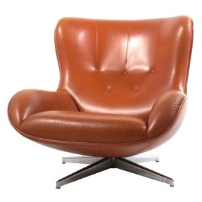 Leather swivel chair 5