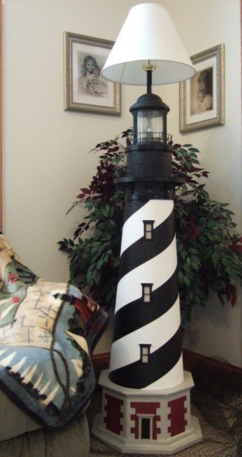 Great Lighthouse Floor Lamp