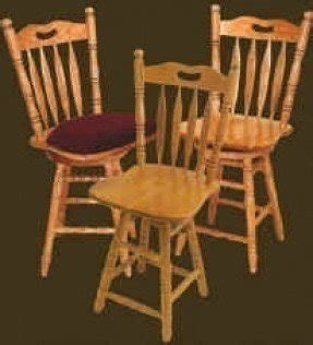 Oak Colonial Bar Stools Foter