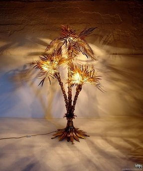 Outdoor palm tree lamp foter outdoor palm tree floor lamp aloadofball Image collections