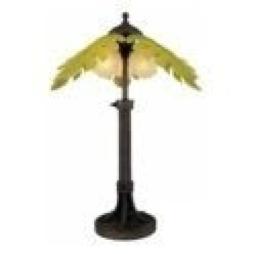 Outdoor palm tree lamp