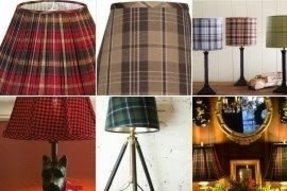 Plaid chandelier shades best photos wallpaper imagebee plaid l shades foter aloadofball Image collections