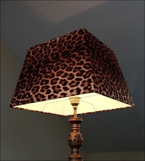 Leopard print lamps foter posts related to animal print lamp shades uk aloadofball Images