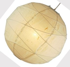 Rice paper lamp shades