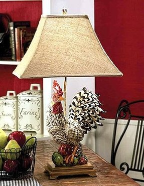 Rooster lamp 3