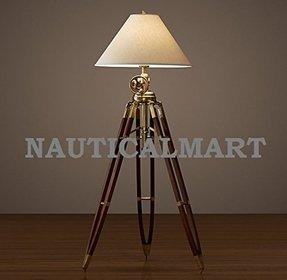 Antique Solid Brass Floor Lamp - Foter