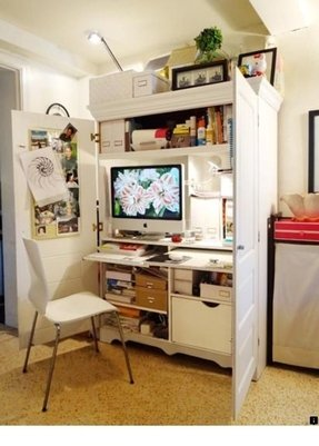Small tv armoire with pocket doors