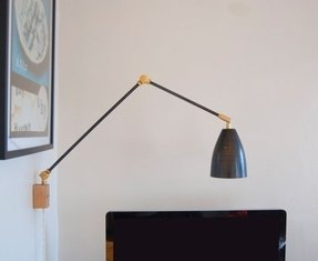 Swing arm lamp shades 1