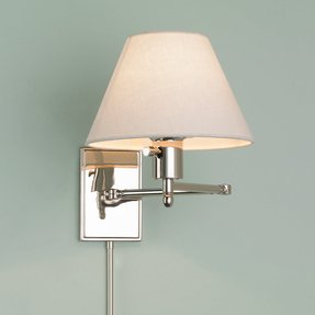 Swing arm lamp shades 20