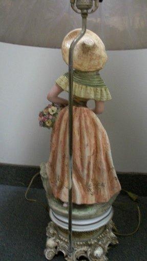 Porcelain Figurine Lamp Foter