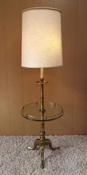 Antique stiffel lamps foter vintage mid century modern stiffel brass floor lamp w glass aloadofball Images