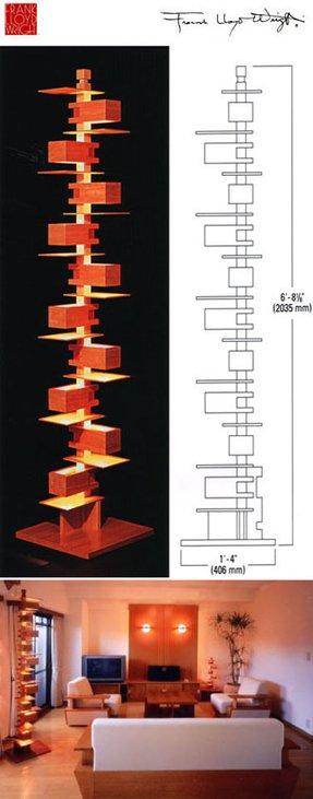 Frank Lloyd Wright Floor Lamp - Foter