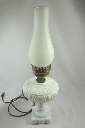 Glass Chimney Oil Lamp Foter