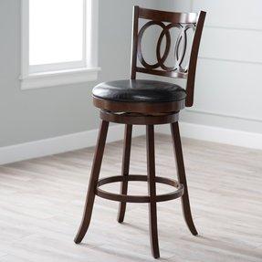 Pleather Swivel Chair Kitchen
