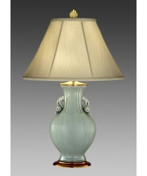 Celadon Porcelain Table Lamp Foter
