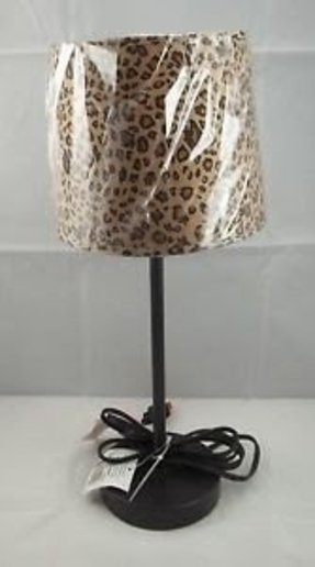 Cheetah lamp shade 4