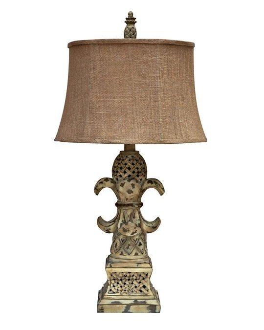 Fleur De Lis Table Lamp 32