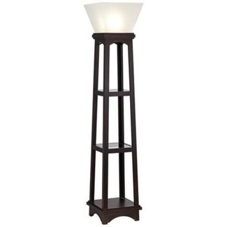 Floor Lamp With Shelves Ideas On Foter
