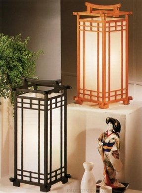 Rice Paper Table Lamp Foter