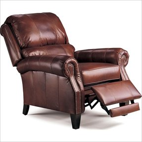 Lane Furniture Hogan Recliner, Chocolate Tri-Tone