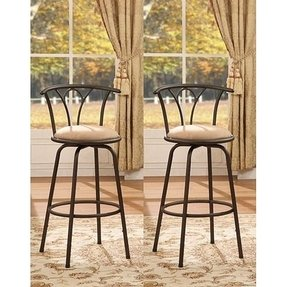 Admirable Bronze Bar Stools Ideas On Foter Alphanode Cool Chair Designs And Ideas Alphanodeonline