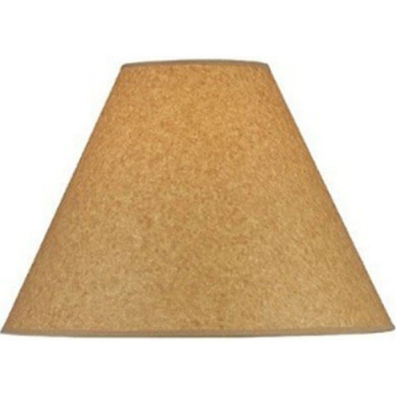 Lite source lighting kraft paper empire lamp shade with spider