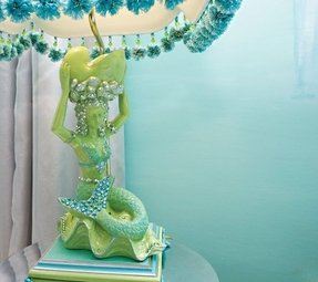 Mermaid Lamp Foter