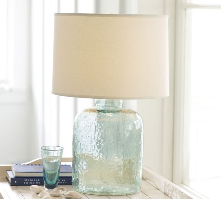 Exceptionnel Sea Glass Table Lamp 1