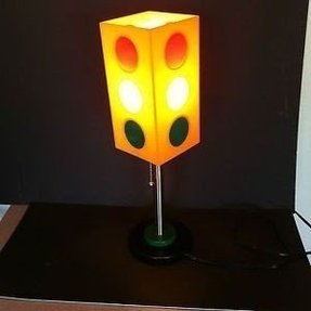Street light traffic signal novelty table lamp target 2003 ebay