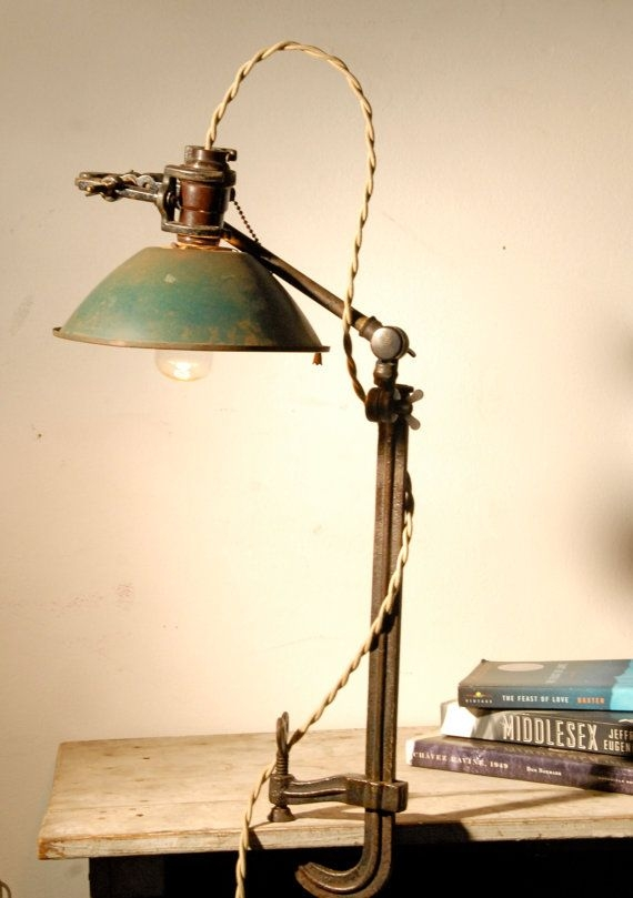 Vintage Clamp Desk Lamp