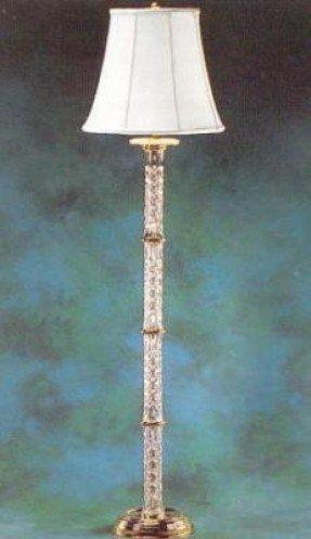 Waterford Crystal Crystal Floor Lamp - Foter
