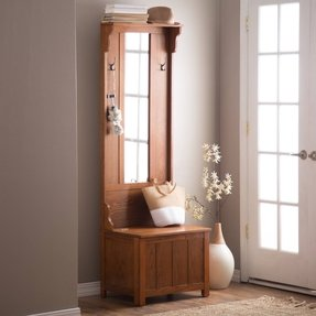 Entryway Hall Tree Bench Foter