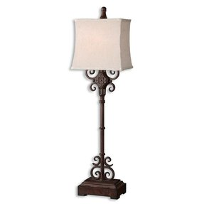 Wrought Iron Rustic Floor Lamp Foter